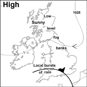 Synoptic chart for 03 Mar