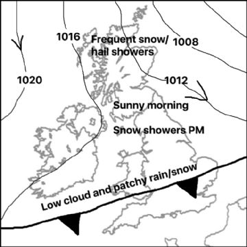 Synoptic chart for 09 Apr